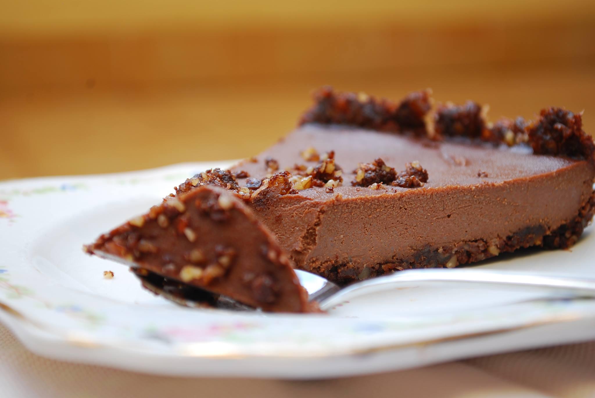 Cheesecake de xocolata vegà